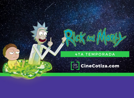 Rick y Morty, cuarta temporada.