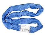 blue roundsling liftex polyster sling po