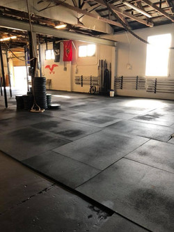 Large floor space