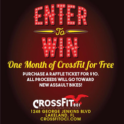 Enter our raffle for one month free!