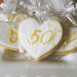 50th Anniversary Favors