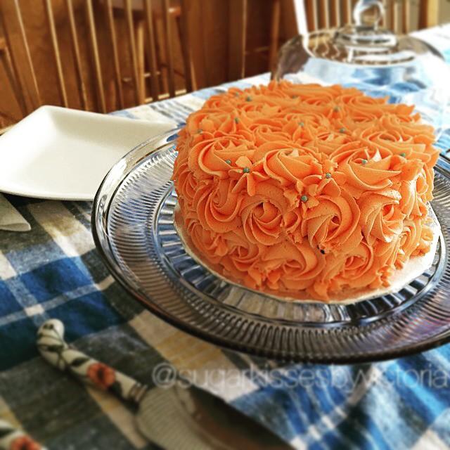Rossette Cake