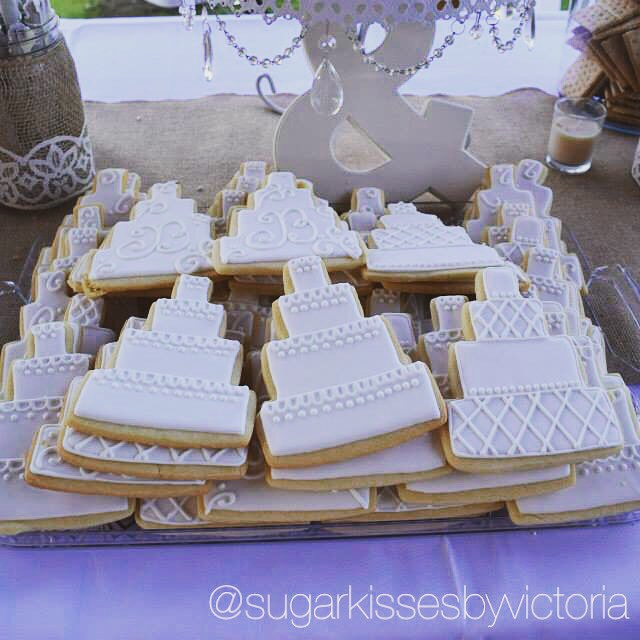 Wedding Cake Sugar Cookies
