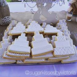 Engagement Party Dessert Table