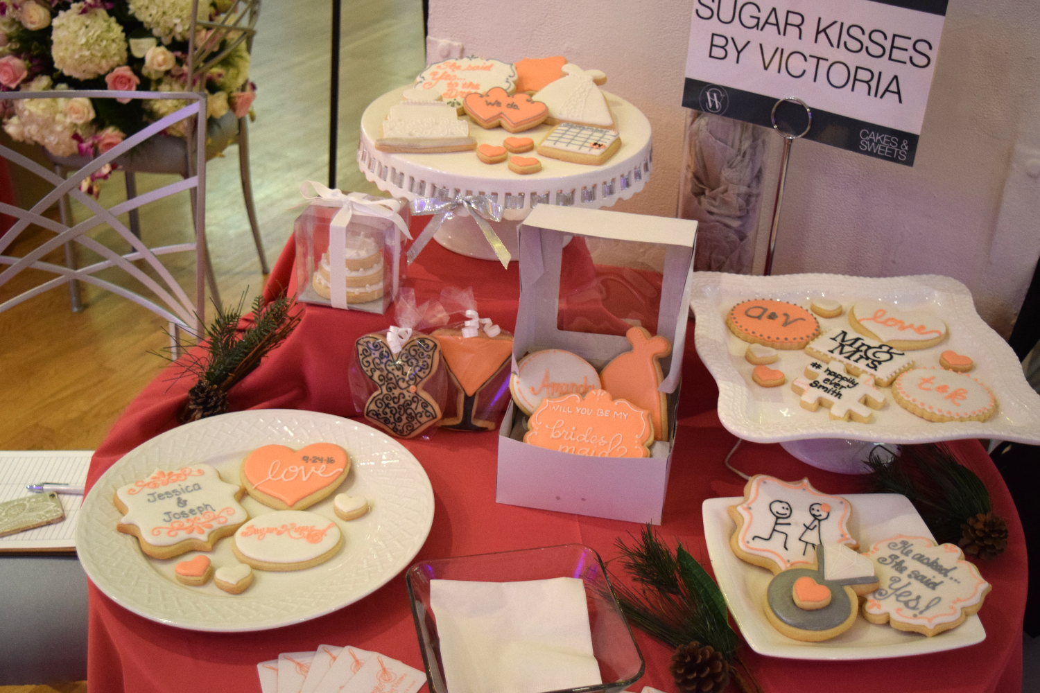 2015 Wedding Salon Display