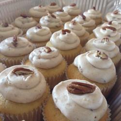 Pecan Pumpkin Spice Cupcakes
