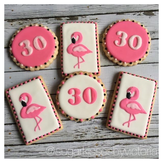 Flamingo Fabulous 30th Birthday