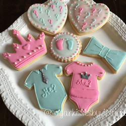 He or She? Gender Reveal Party Tray