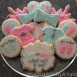 Gender Reveal Party Tray