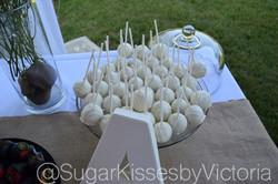 Engagement Cake Pops