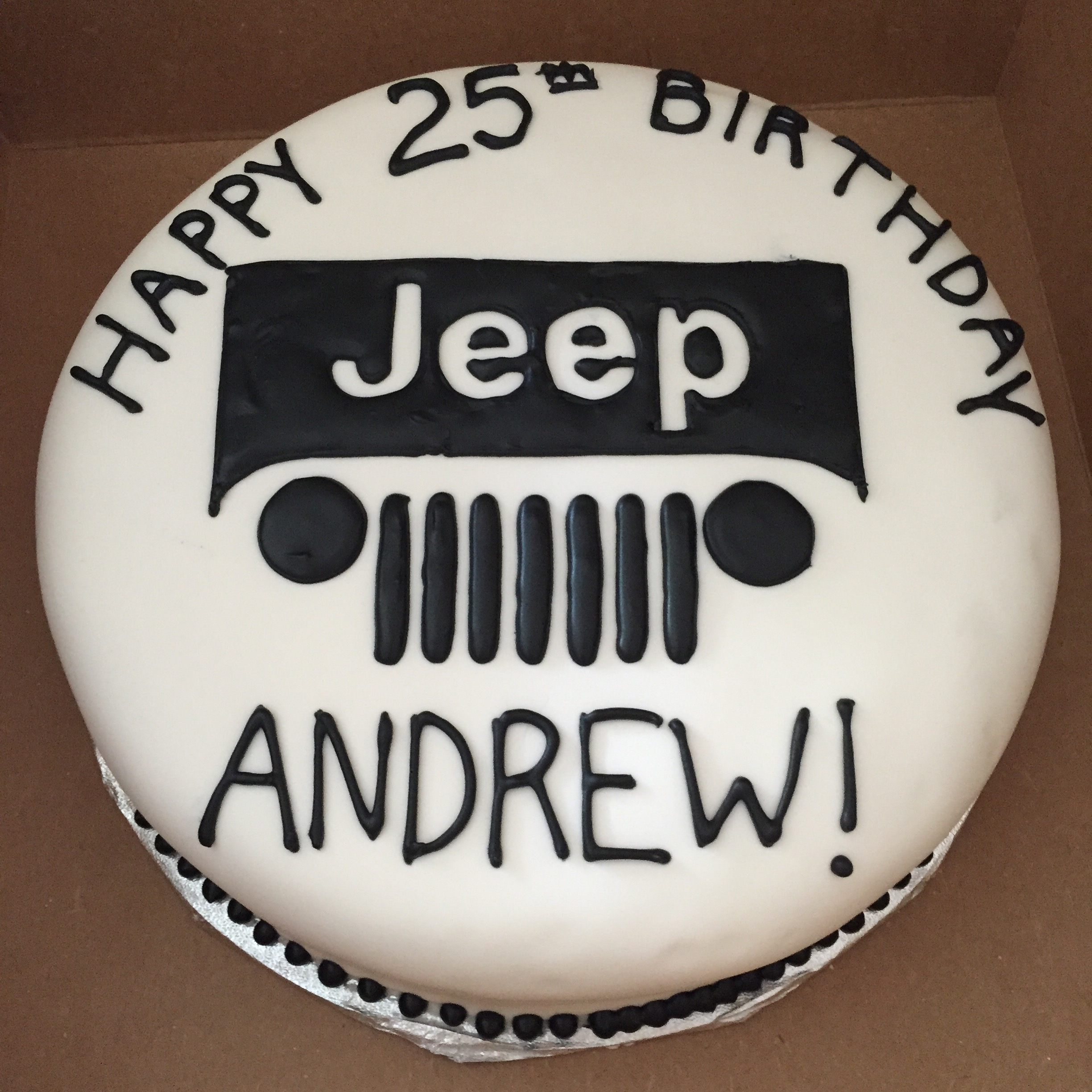 Jeep Lover Cake