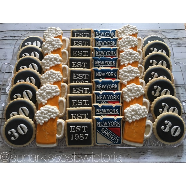30th Birthday Cookie Tray