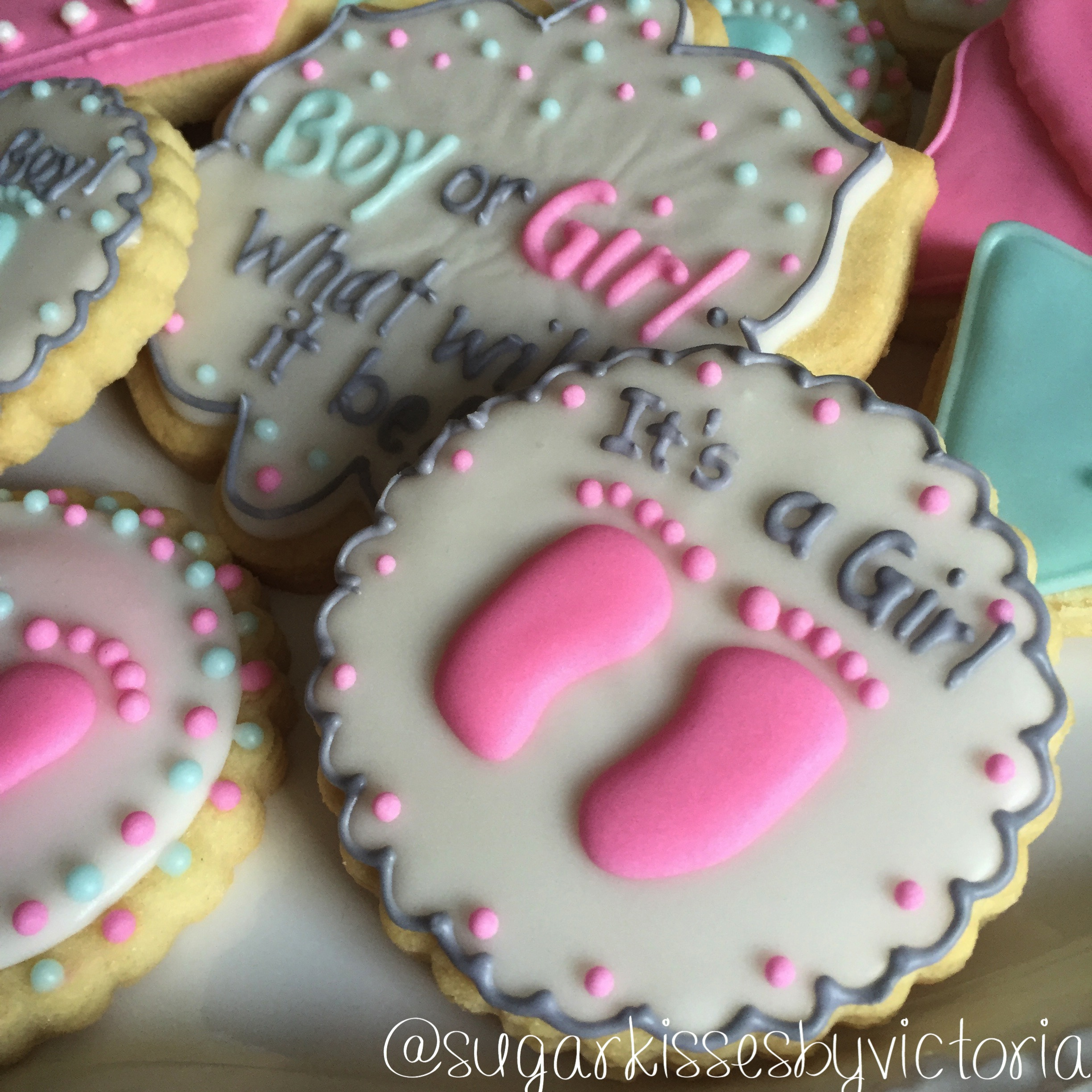 Its A Girl!! Gender Reveal Party Tra