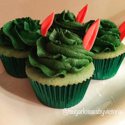 Peter Pan Cast Party Cupcakes