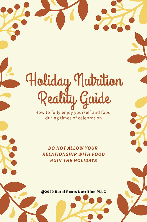 Holiday Nutrition Reality Guide
