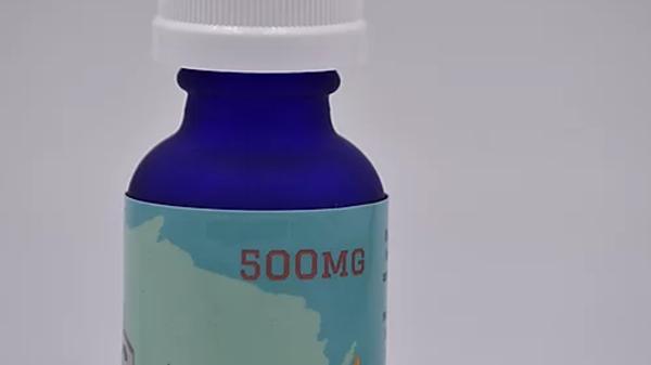500mg CBD Isolate Hemp Oil 30ml