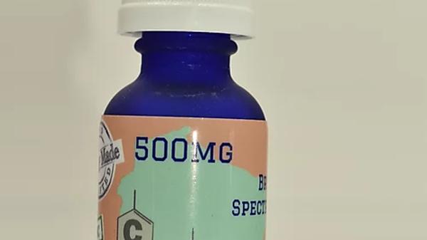 500mg Broad Spectrum CBD Hemp Oil 30ml
