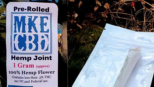 Fresh Hemp Flower Pre Rolled Joint