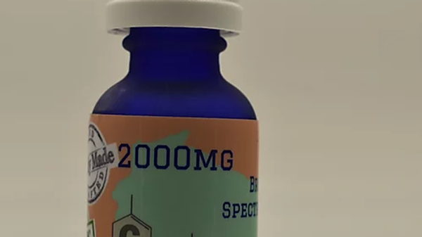 2000mg Broad Spectrum CBD Hemp Oil 30ml