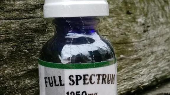 1250mg Full Spectrum CBD Hemp Oil
