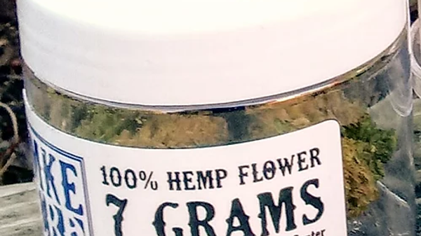 Fresh Hemp Flower Bud - 7 grams
