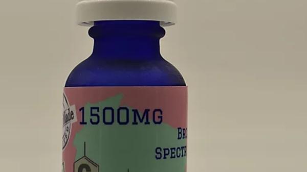 1500mg Broad Spectrum CBD Hemp Oil 30ml