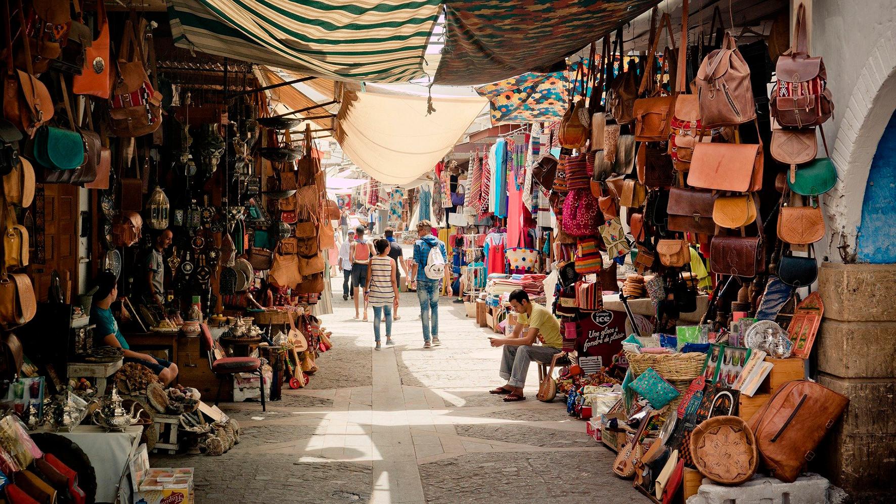 Mercadillo Tetuán - Marruecos