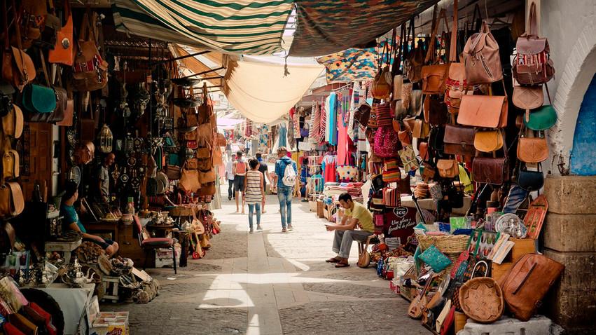 Mercadillo de Tetuán - Marruecos