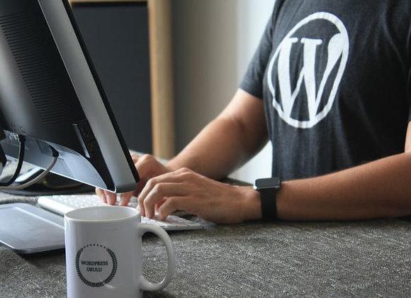 Simple WordPress Template Website