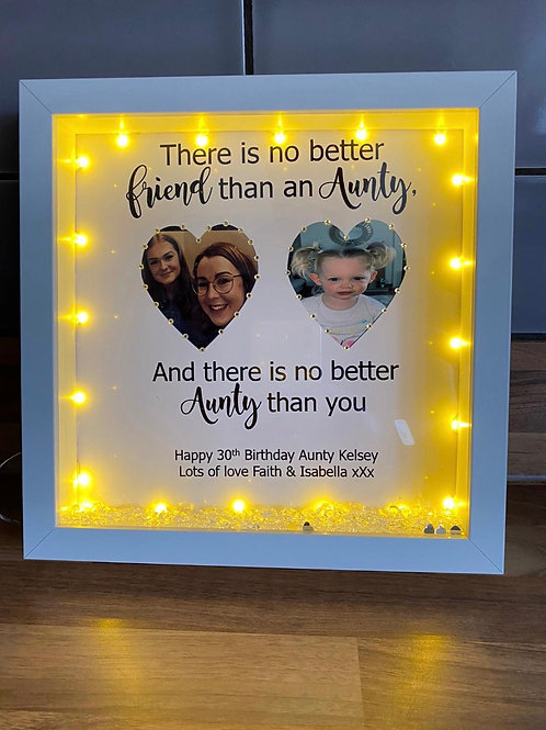Personalised Aunty/Auntie frame