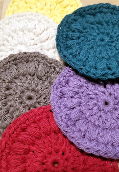 Face Round - Pack of 3