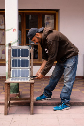 el cargador solar