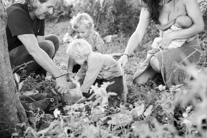 Familia en ritual