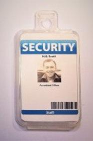Security Tag/I.D Holder