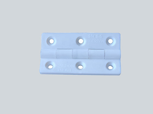 64mm Nylon Hinge with Stainless Steal Pin