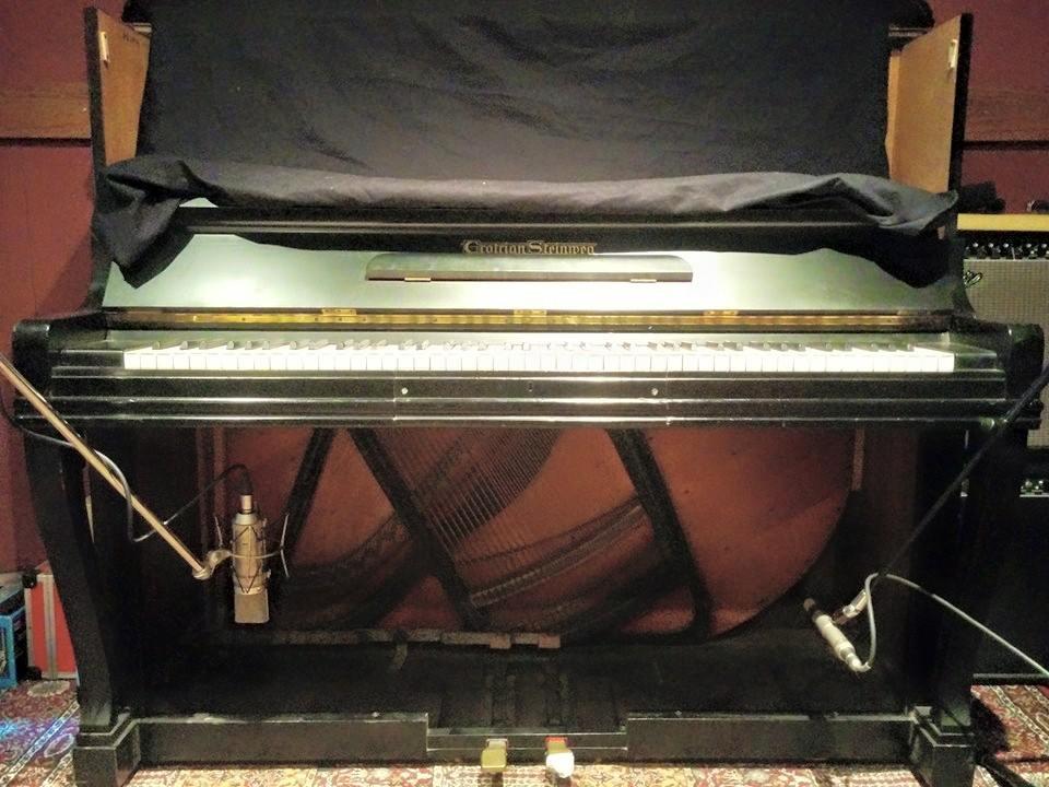 Gravações do nosso piano
