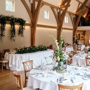 Table srrangments wedding midlands