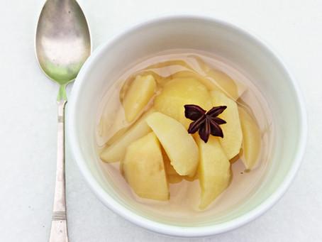 Omas Apfelkompott sau compotul de mere al bunicii