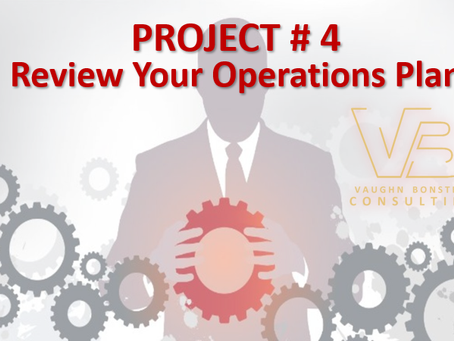 Project #4 Review Your Operations Plan