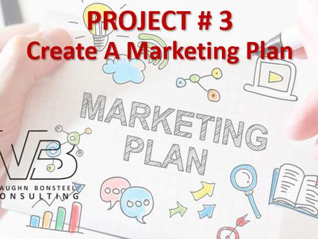 Project #3 Create a Marketing Plan