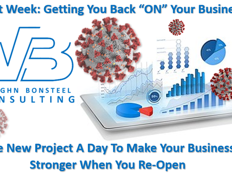 """Next Week: Getting You Back """"ON"""" Your Business"""