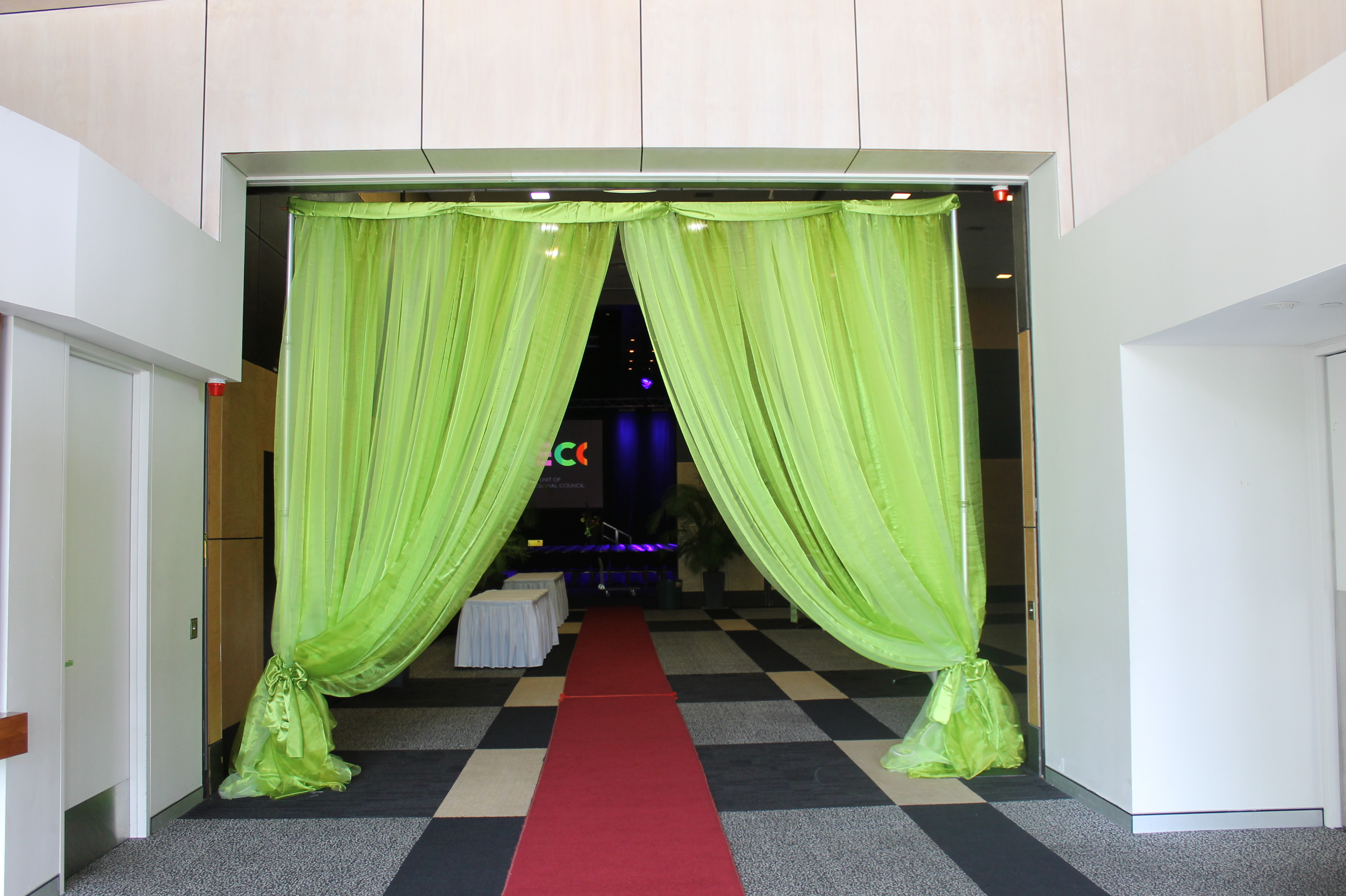Curtain Entrance