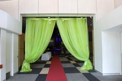 Curtain Entrance