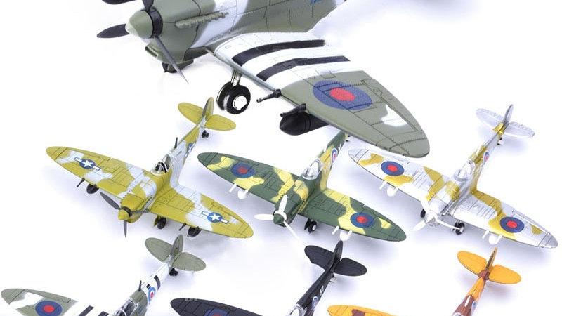 WW2 Germany BF109 UK Hurricane Fighter