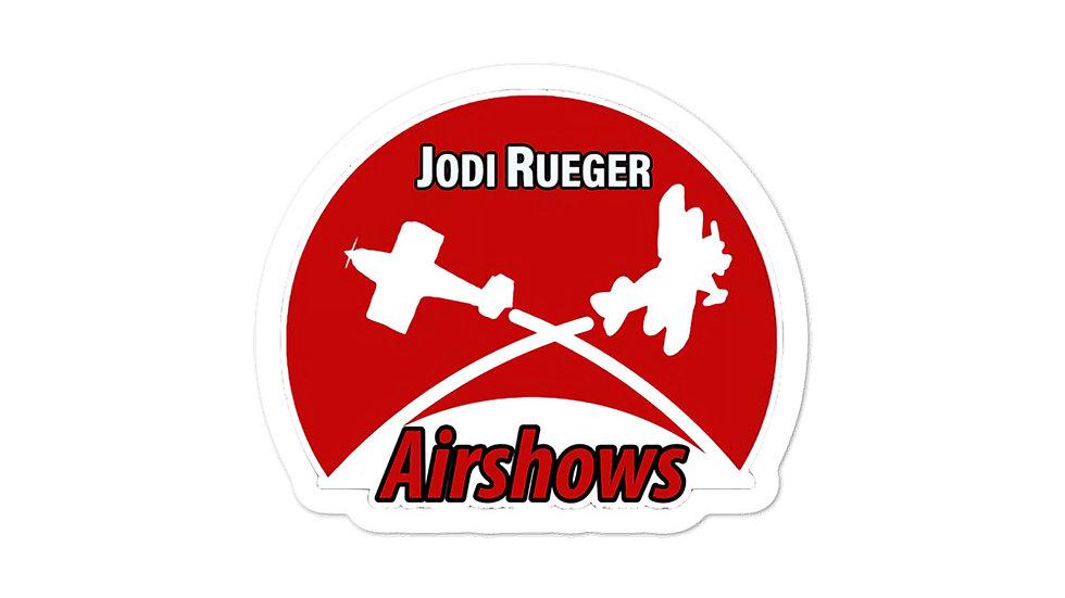 Jodi Rueger Airshows Stickers