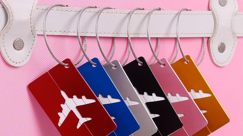 Luggage Tag Baggage Name Tags Aluminium Alloy