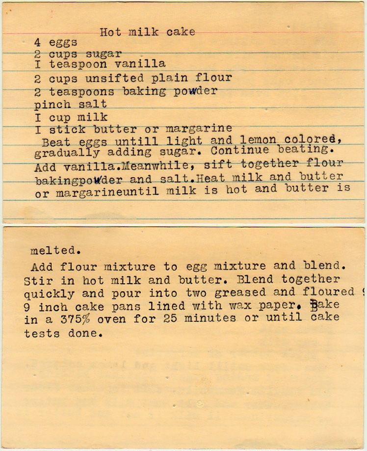 Yesterdish recipe card