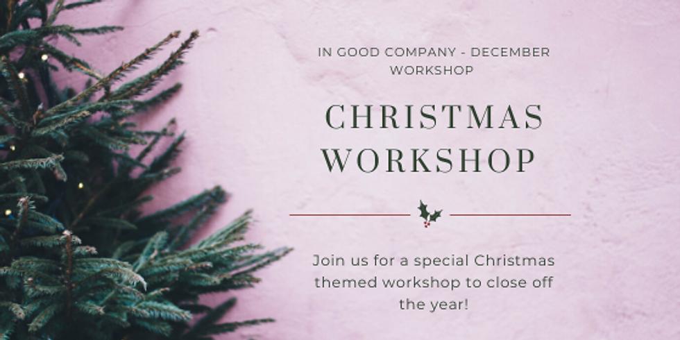 December | Session 1| In Good Company | Petite Cake Decorating Workshop & Tea