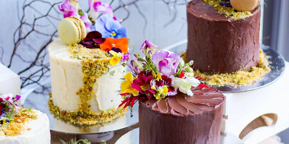 SEPTEMBER | Session 1 | In Good Company | Petite Cake Decorating Workshop & Tea