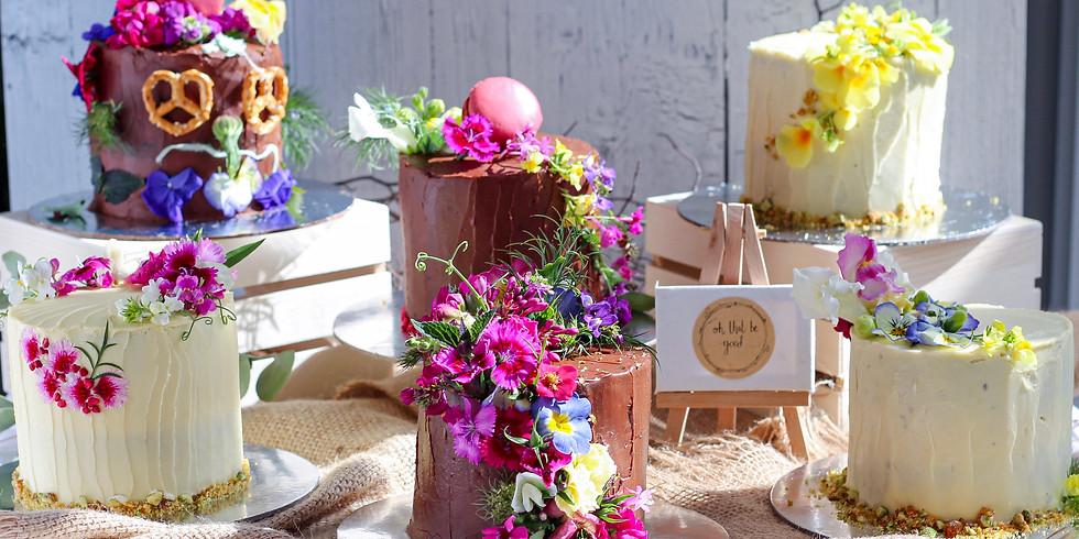 October   Session 2   In Good Company   Petite Cake Decorating Workshop & Tea